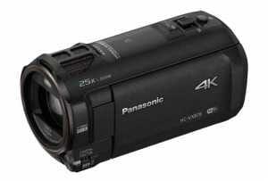Die HC-VW878 unterscheidet sich im Design nur durch die fehlende Zweitkamera am Display