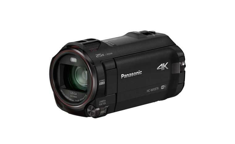 HC-WX979 4K Camcorder von Panasonic mit Twin-Camera