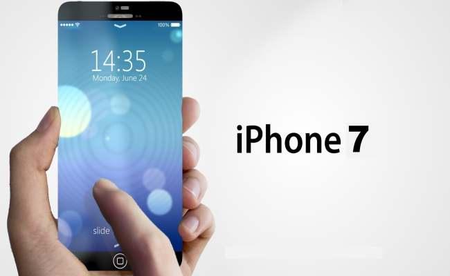 iPhone 7 mit OLED Display (Mockup)