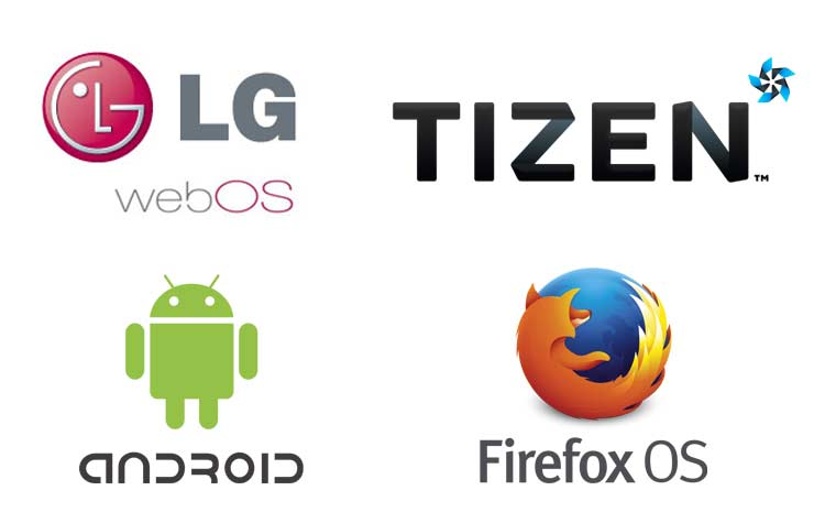 TV Systeme: webOS 2.0, Tizen, Android und Firefox OS
