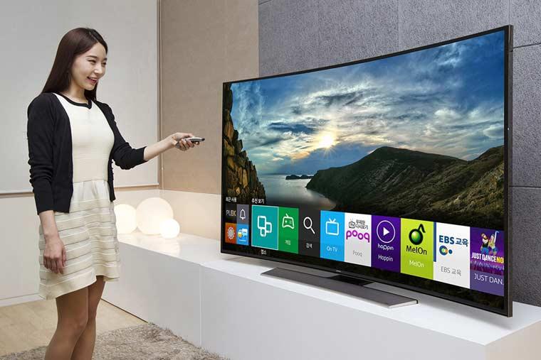 Tizen OS auf Samsungs 4K Fernseher