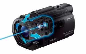 Bildstabilisator der Sony FDR-AXP33