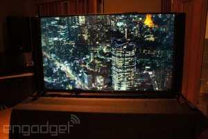 Philips 4K Laster TV Front