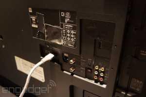 Philips 4K Laster TV Rückseite