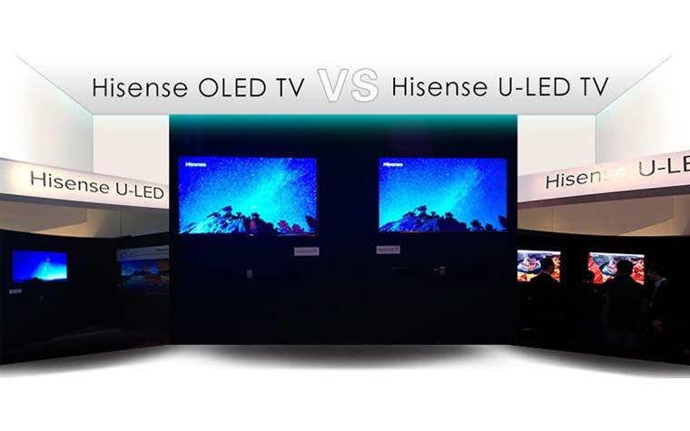 Hisense ULED 4K TVs im Vergleich mit OLED