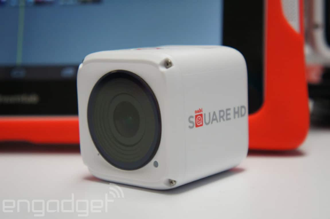 Nabi Square HD 4K Actioncam für Kinder