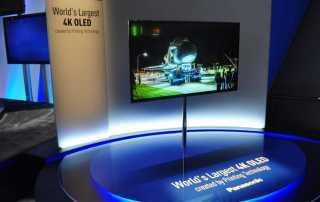 Panasonic plant einen 65 Zoll 4K OLED TV auf den Markt zu bringen