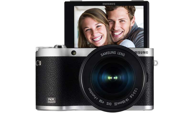 Samsungs NX500 Vorgängermodell die NX300