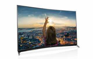 Panasonics curved 4K Fernseher der CRW854 Serie