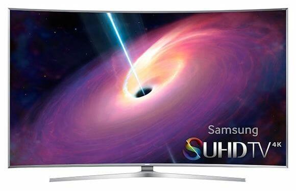 Samsung SUHD JS9000 Frontansicht