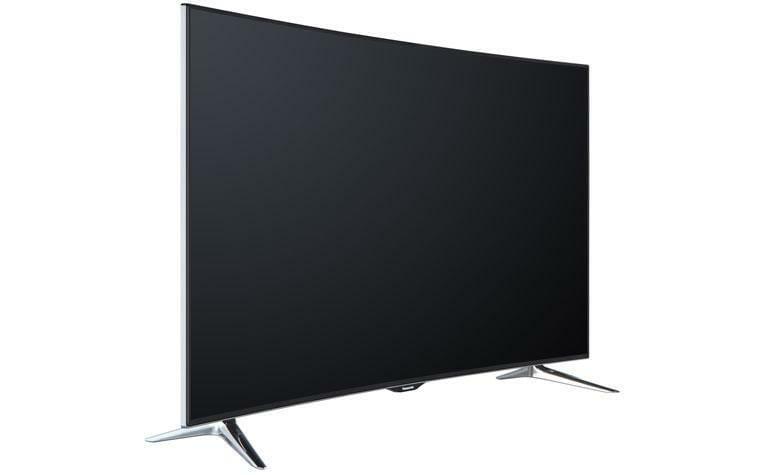 Curved 4K TV von Panasonic kommt im Mai in den Handel