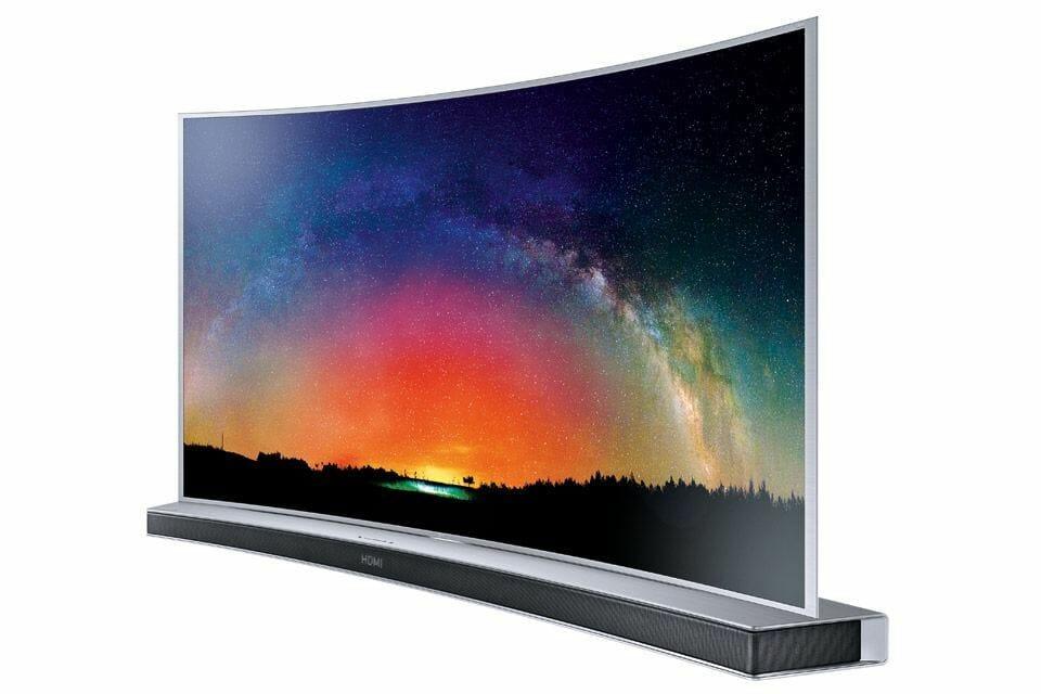 Samsung SUHD TV mit passendem Soundbar