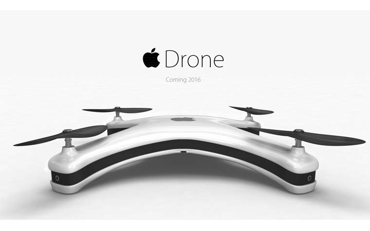 Apple 4K Drone / Drohne