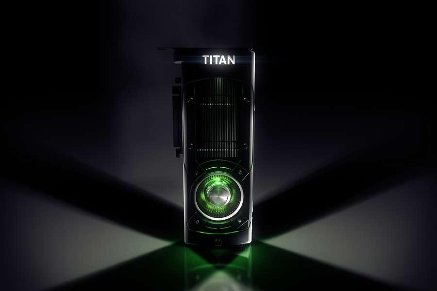 Nvidia GTX Titan X 4K Grafikkarte
