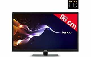Lenco LED-3901-4K günstiger 4K Fernseher für 350 Euro