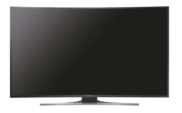 UE65JU6550 Samsung curved 4K TV in schwarz