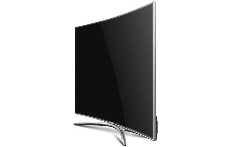 Hisense 55XT810 curved 4K Fernseher