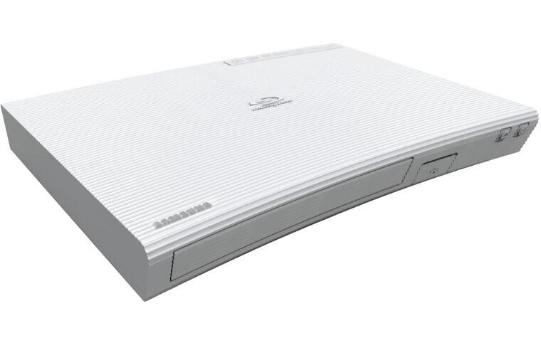 samsung pr sentiert curved blu ray player bd j5900 bd j5500. Black Bedroom Furniture Sets. Home Design Ideas