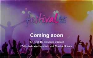 Festival 4K Sender