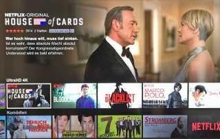 Netflix neue 4K Inhalte