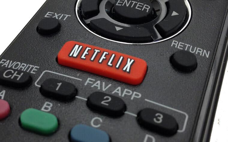 Die Netflix-Taste: In den USA bereits