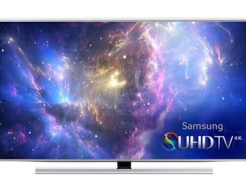 Gibt es bald einen Samsung SUHD TV mit flachem Display?