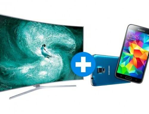Aktion: Samsung Tizen 4K TV + Smartphone GRATIS!