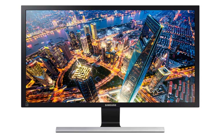 Samsung U32E850R 4K Monitor mit 32 Zoll, AMD FreeSync und HDMI 2.0
