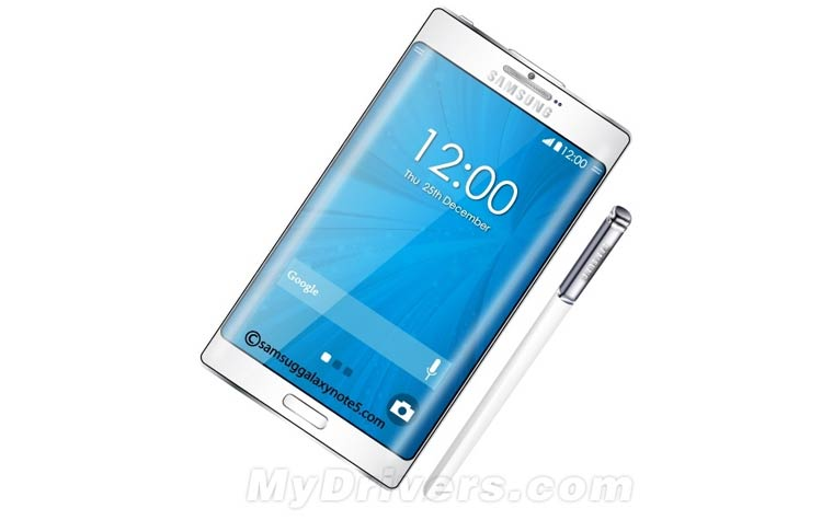Samsung Galaxy Note 5 Mockup