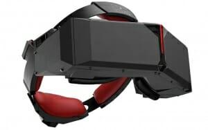 StarVR Virtual-Reality-Brille von Starbreeze