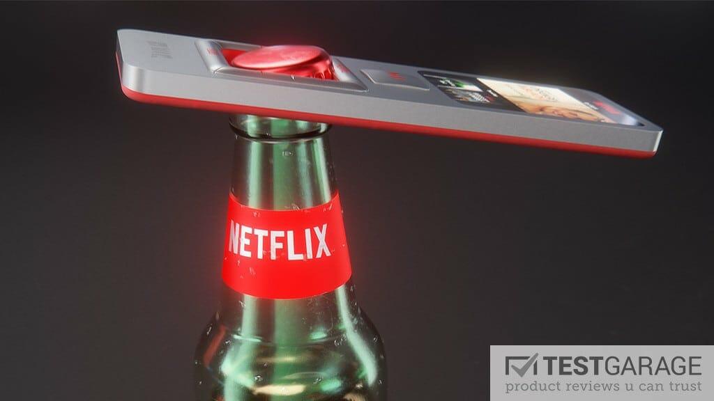 Netflix 4K Streaming Box Konzept von Martin Hajek