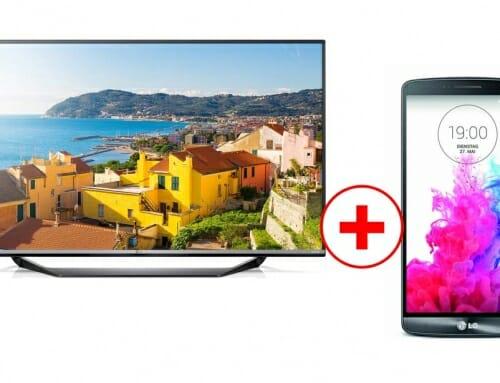 LG Ultra-HD-TV Verkaufsaktion: LG G3 Smartphone gratis