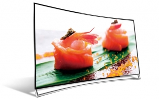 65XT910 65 Zoll 4K Fernseher mit curved Display, ULED & HDR