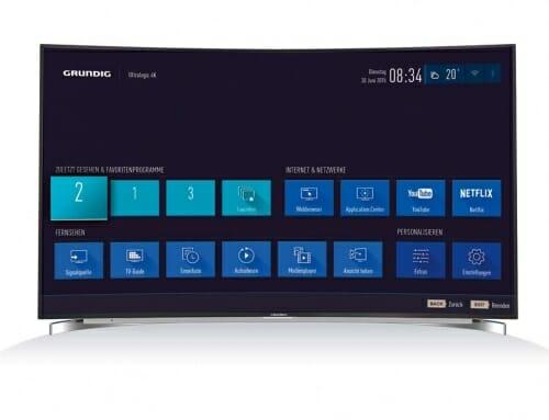 Grundig stellt Ultralogic 4K TV-Plattform vor