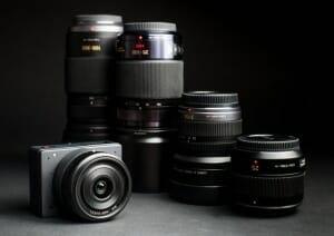 Kompatibel mit allen gängigen MFT-Objektiven von Panasonic und Olympus