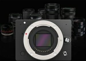 E1 4K Kamera mit Micro Four Thirds