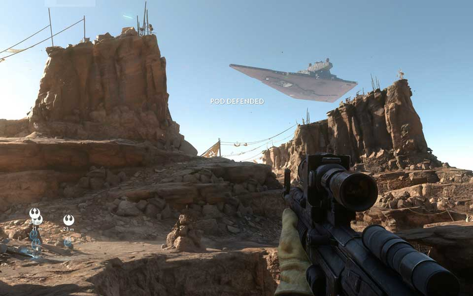 Star Wars Battlefront 4K Screenshots