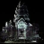 3D Visualisierung berühmter Bauwerke mit 8K Projektion