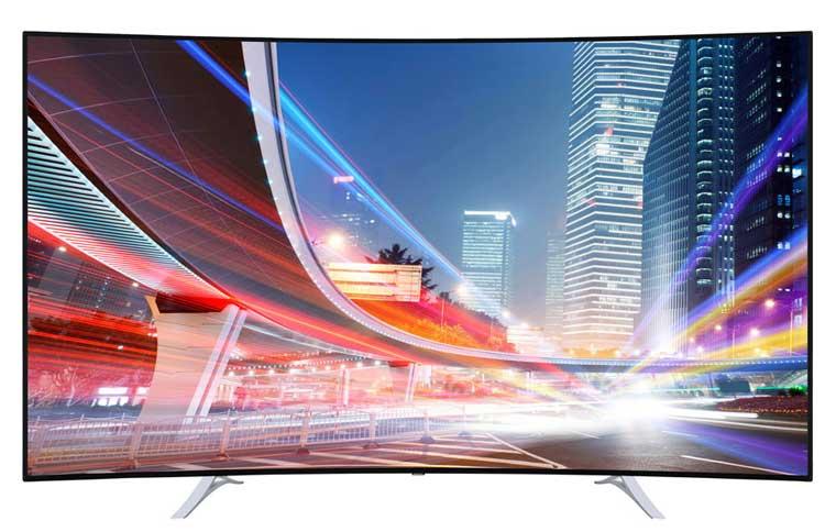 Medion X18119 curved 4K Fernseher mit 78 Zoll