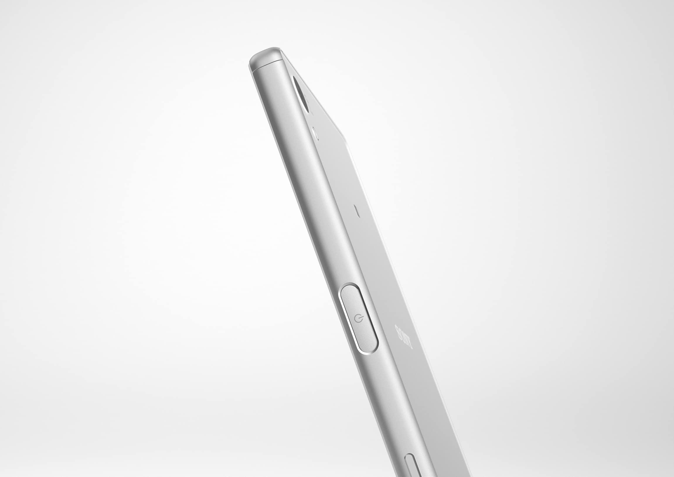 Xperia Z5 in Silber-weiß