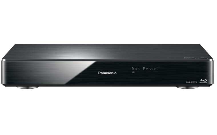 Die Blu-ray Disc Recorder DRM-BST950 und DMR-BST950 unterscheiden sich nicht im Design