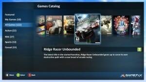 Über 120 Spiele gibt es im Game-Katalog von Gamefly