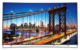 Hisense 65H10 curved ULED 4K Fernseher mit HDR