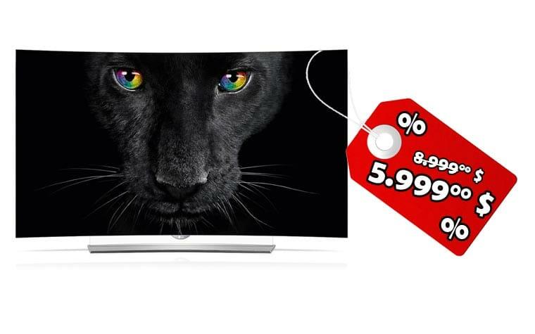 LGs OLED 4K Fernseher sind in den USA rund 30% günstiger geworden