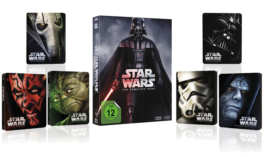 Star Wars limitierte Steelbook Edition