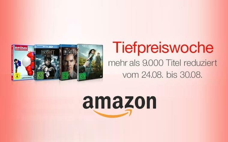 Tiefpreiswoche Blu-ray & DVD auf Amazon.de