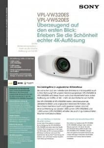 Detailinfos VPL-VW520ES Seite 1