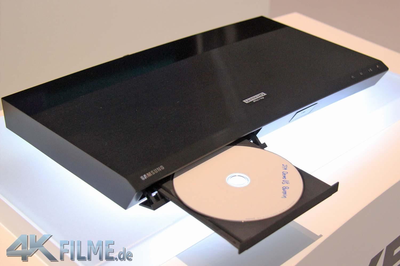 Erster 4K Blu-ray Player von Samsung: UBD-K8500