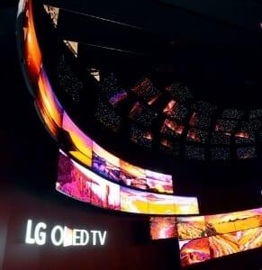 LG setzt seine 4K OLED TV auf der IFA eindrucksvoll in Szene