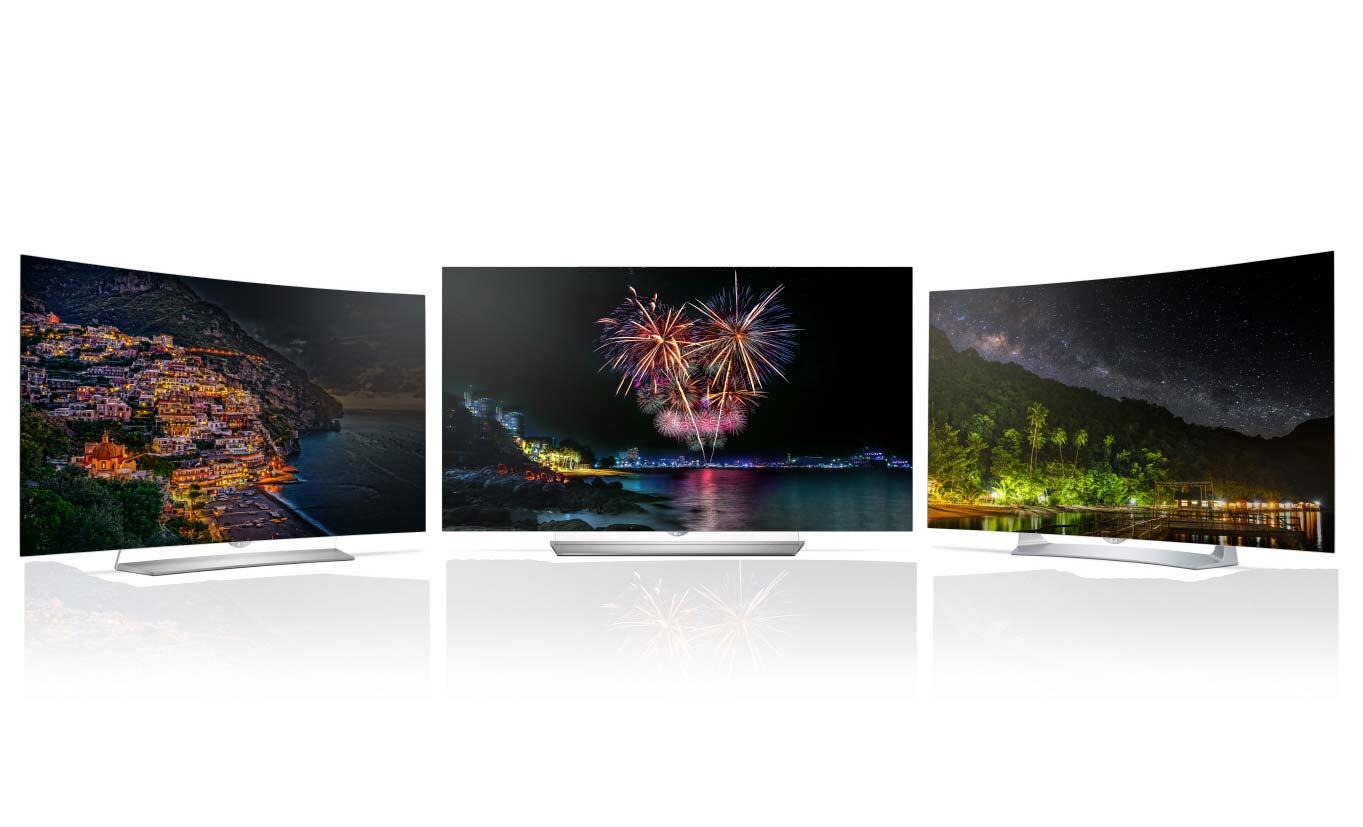 OLED TV Lineup von LG